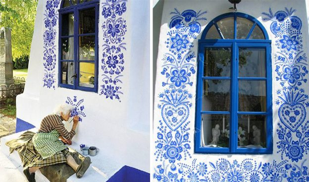 90 Year Old Czech Grandma Transforms a Village Into An Art Gallery.11