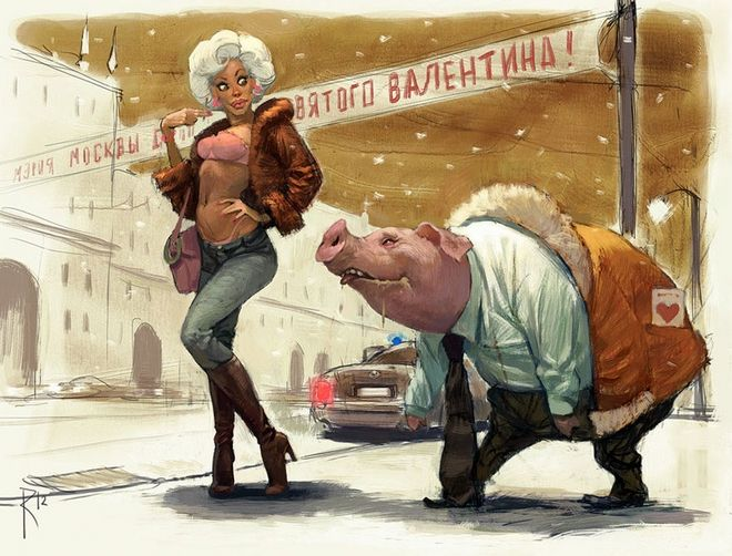 Sexism, Violence, Indifference. The Society Through the Sketches of Waldemar Von Kazak.5
