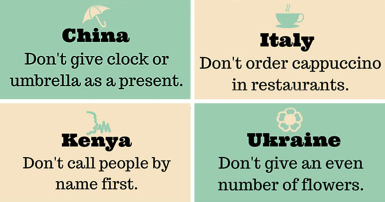 18 Things You Shouldn't Do Abroad.