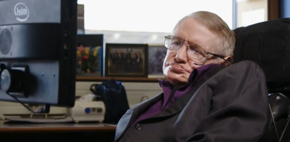 Are You Depressed Stephen Hawking Has a Beautiful Message for You