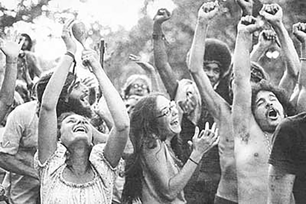 Dancing at Woodstock