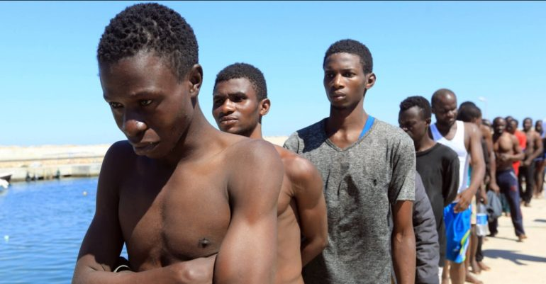 Shocking Footage Of Africans Being Sold At Open-Air Slave Markets In Libya.