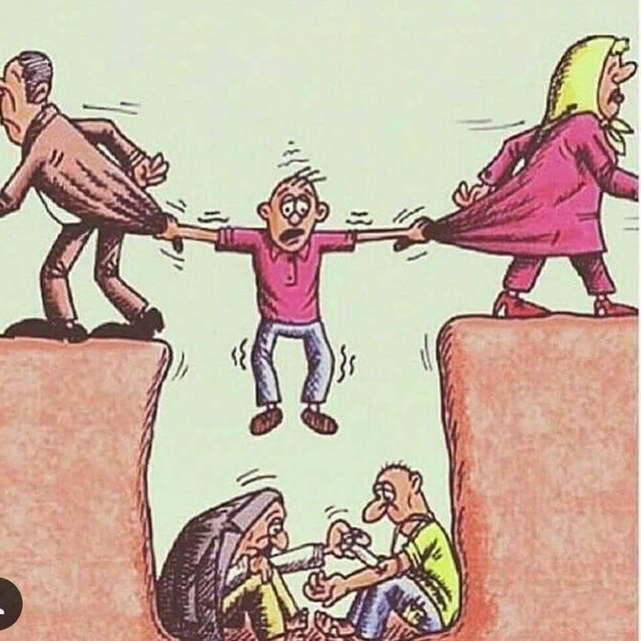 14 Honest Sketches Illustrating Sad Reality Of Society Nowadays 13