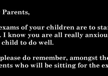 A School Principal in Singapore Sent This Letter to the Parents Before the Exams (2)