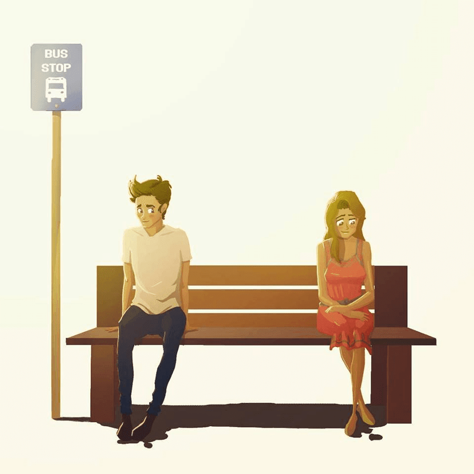 Amazing Illustrations Capture All The Joyful And Sad Moments Of Relationships9