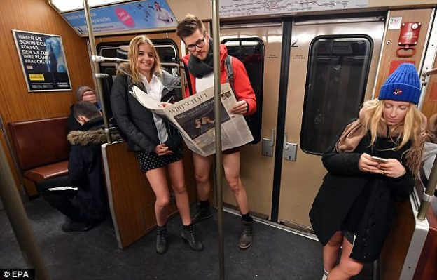 No pants Subway Ride-1