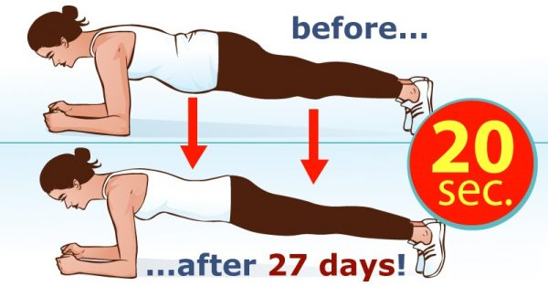 Plank for a month