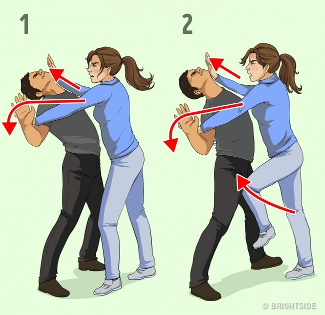 7 Self-Defense Techniques For Women Recommended By A Professional 4