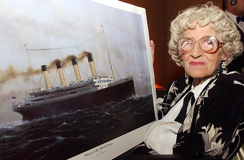 Last Remaining Survivor Of The Titanic Shared A Valuable Life Lesson Before Passing Away