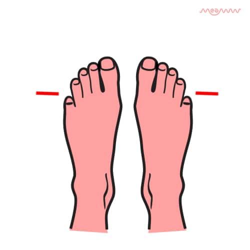 tiny foot