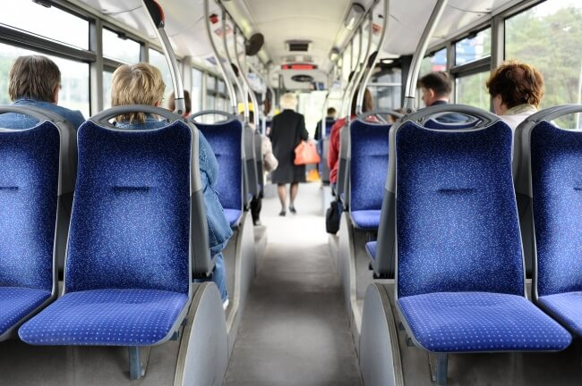 2. The next question is for a bus, in a vacant bus 3-4 women get up and sit on the last seats. Guess the reason