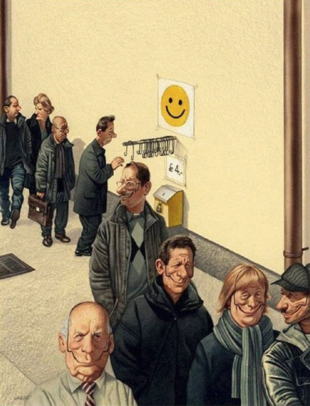31 Brutally Honest Illustrations Show What's Wrong With Today's Society-3