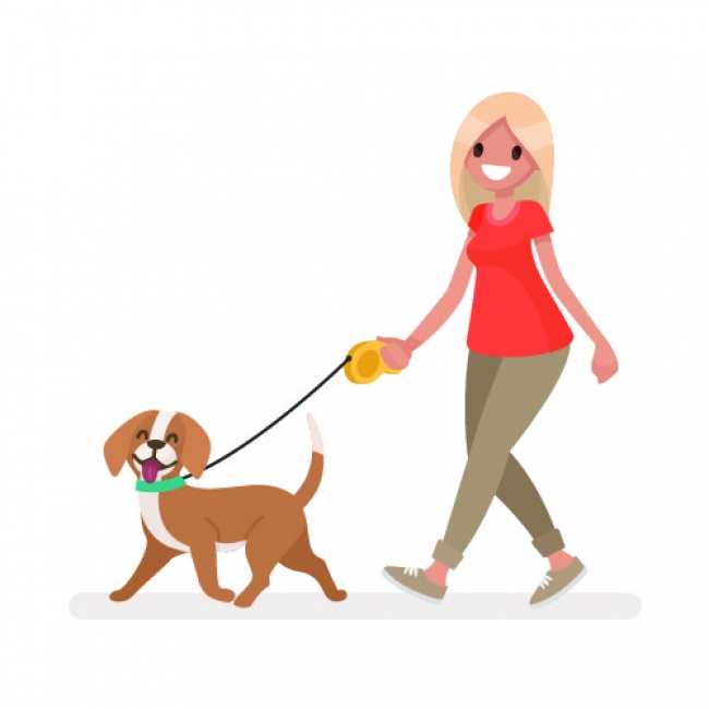 8. Go walking everyday