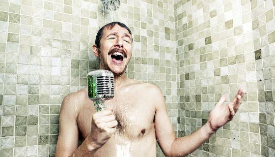 9. Bathroom Singing