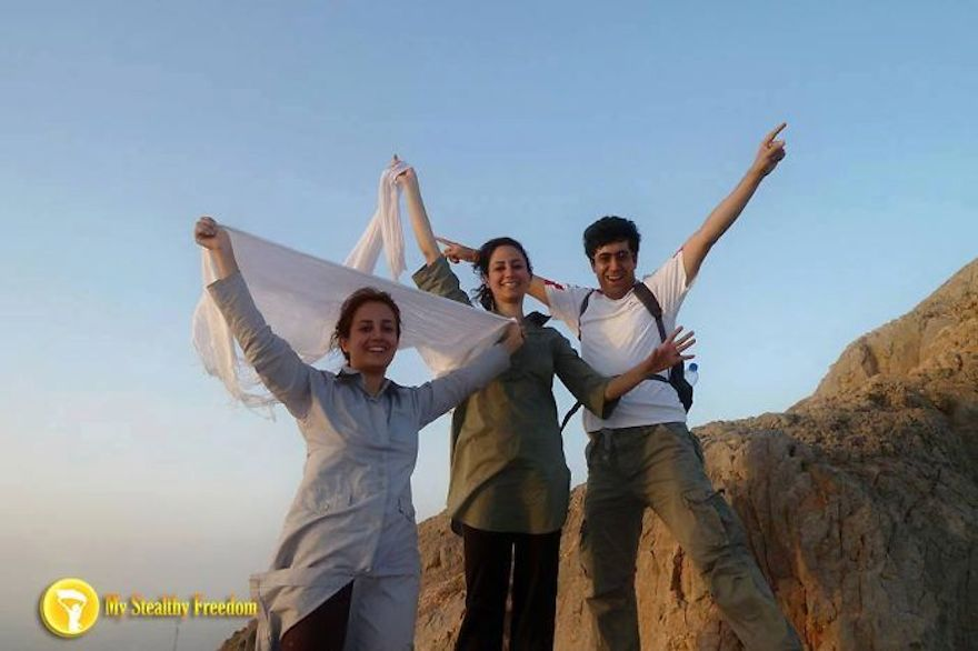 """Iranian Women Are Posting Pics With Their Hair Flying Free In Protest Of Strict Hijab Laws - """"Enjoying the wind passing through our hair."""
