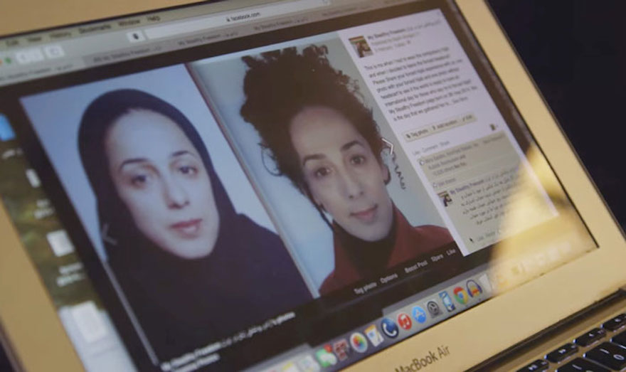 Iranian Women Are Posting Pics With Their Hair Flying Free In Protest Of Strict Hijab Laws - It all started when Masih Alinejad posted photos of herself with and without a Hijab veil.