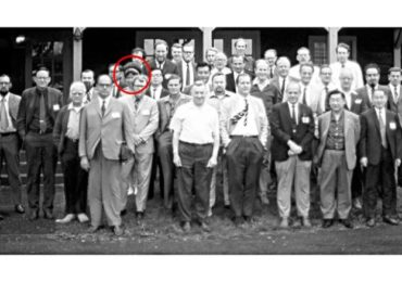 The identity of the lone woman scientist in this 1971 photo was a mystery. Then Twitter cracked the case