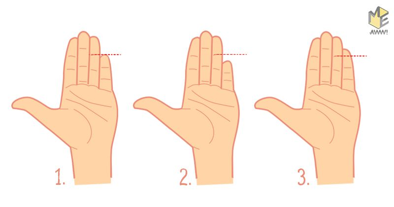 What does the size of your pinky finger say about you