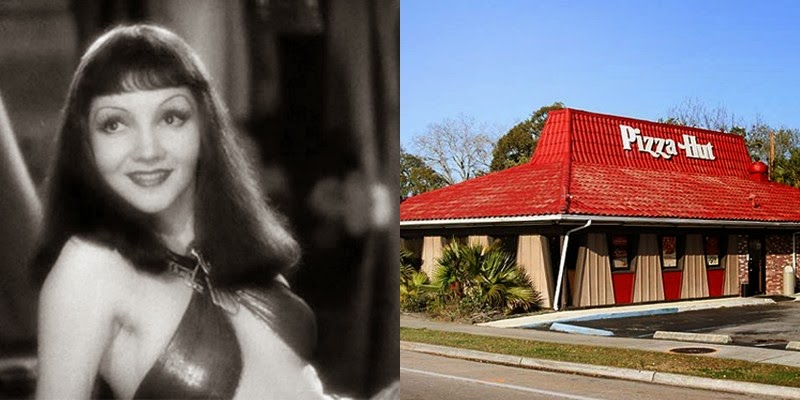 1. Cleopatra lived closer to the building of Pizza Hut than the pyramids.
