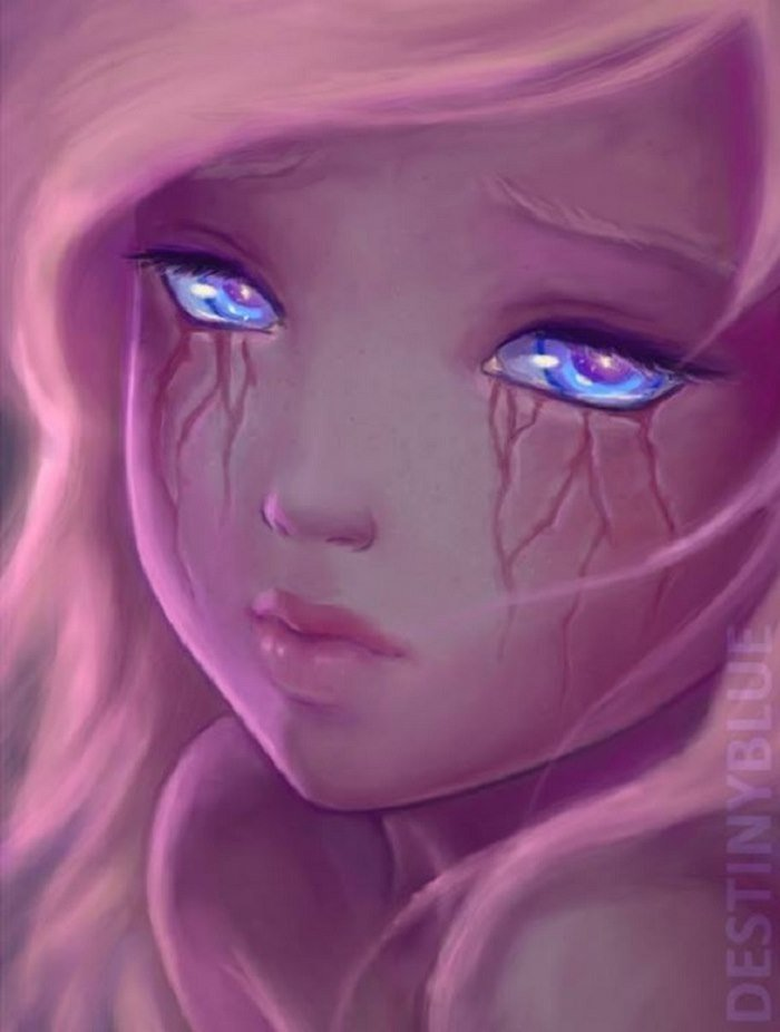 #11. If tears left scars.
