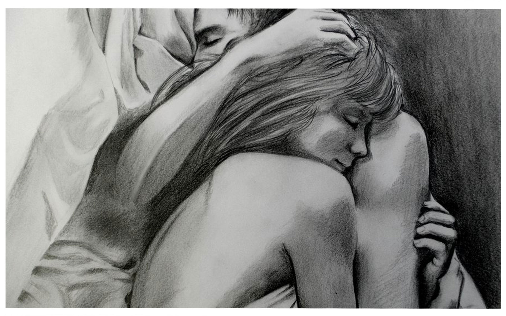 Artists Incredible Pencil Drawings Depict The Glimpse Of Love That