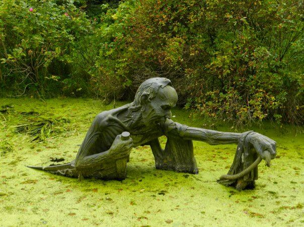 25. Swamp Sculpture, Eastern Ireland.