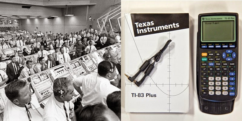 6. There is more processing power in a TI-83 calculator than in the computer that landed Apollo 11 on the moon.