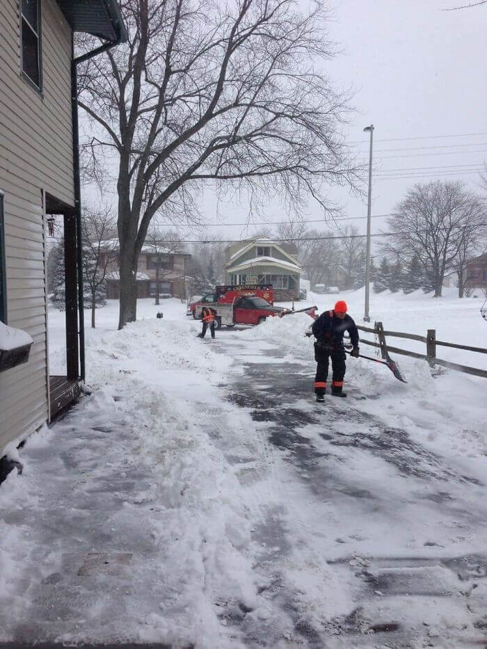 An Elderly Man In My Neighborhood Had A Heart Attack While Shoveling His Driveway.