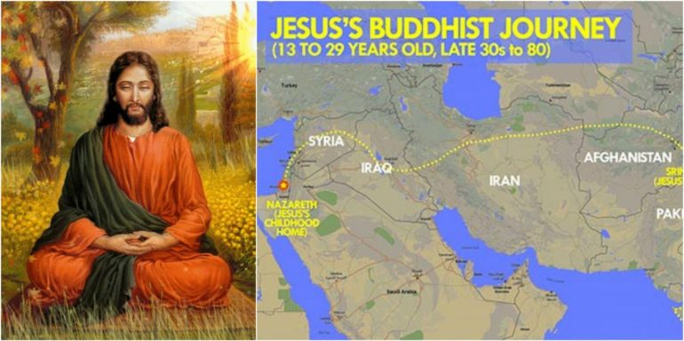 BBC Doc Claims Jesus Was A Buddhist Monk Named Issa Who Spent 16+ Years In India & Tibet