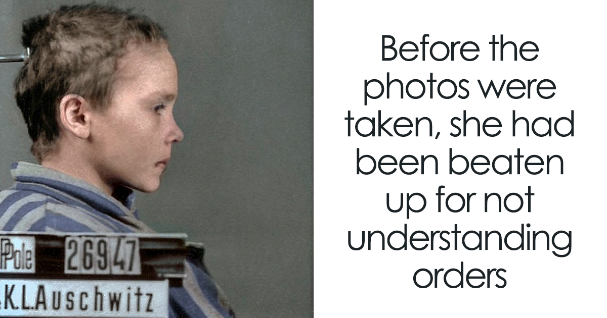 The Last Photos Of A 14-Year-Old Polish Girl In Auschwitz Get Colorized, And They'll Break Your Heart