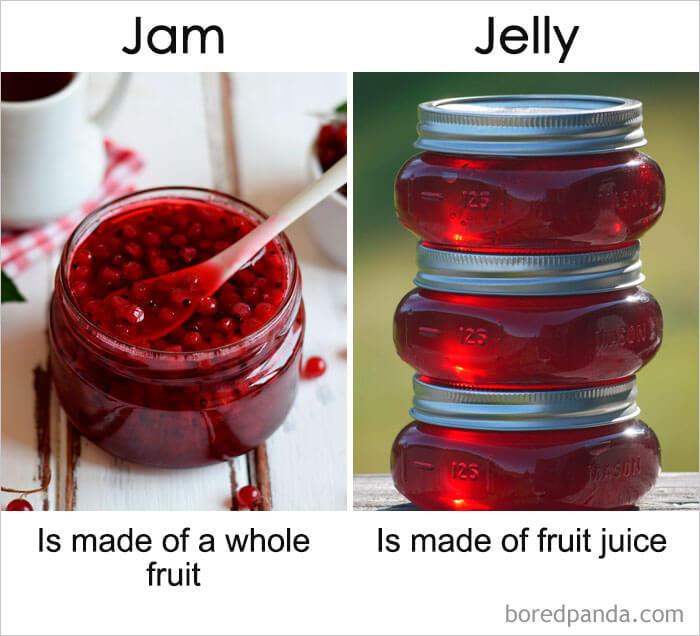 12. Jam vs Jelly