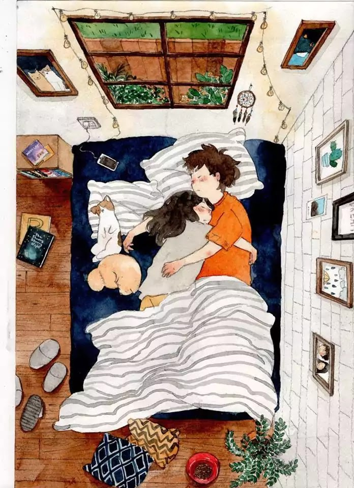 15 Romantic Illustrations By Various Artists-4