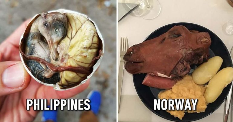 21 Extraordinary Pictures Of National Foods That Seem Uncanny To The Rest Of The World