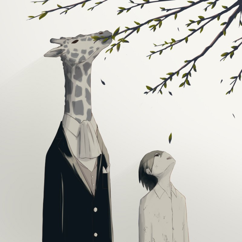 30+ Meaningful Illustrations By Japanese Artist Will Provoke Your Strong Emotions-29