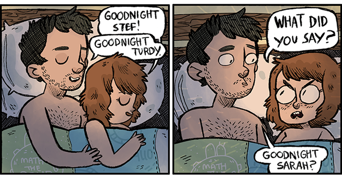 Artist Illustrates Everyday Life With Her Boyfriend And Its Too Funny And Adventures