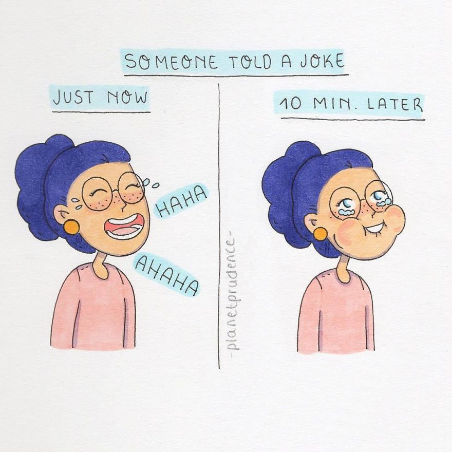 Artist's Funny Illustrations Show The Importance Of Having Self-Confidence That Are Too Relatable-25