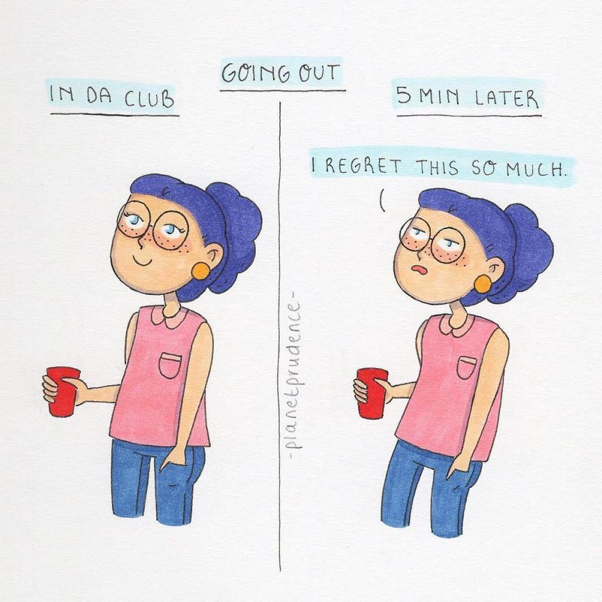 Artist's Funny Illustrations Show The Importance Of Having Self-Confidence That Are Too Relatable-34