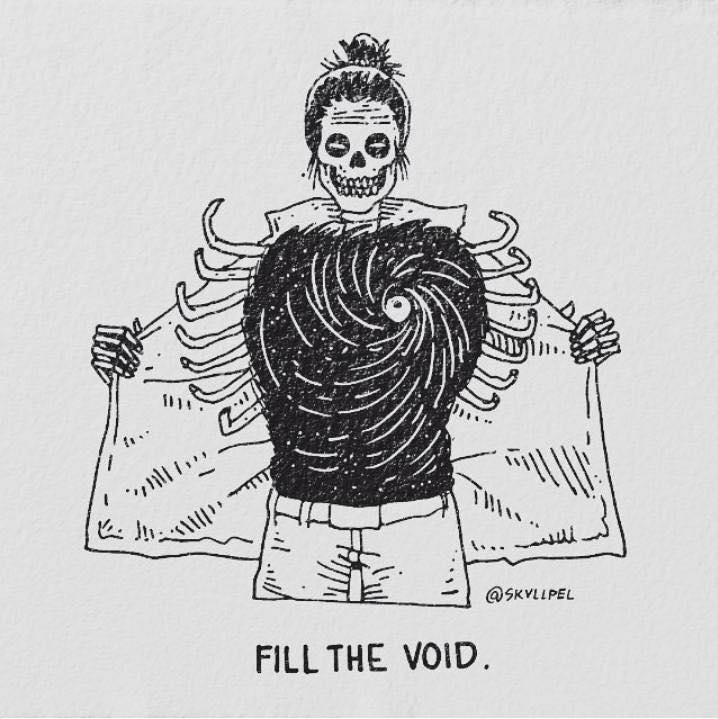 Artist's Skeletal Illustrations Show The Glimpse Of Intense Love With Beautiful Messages-21