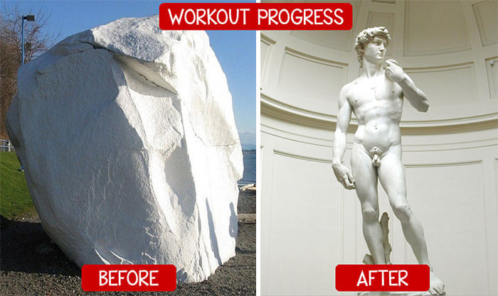 Kept Hitting The Gym For Ages, Proud To Show Off My Progress
