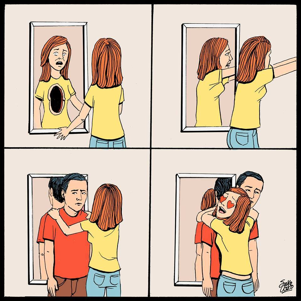 Powerful Contradictory Illustrations Telling The Truth About People And Society-2