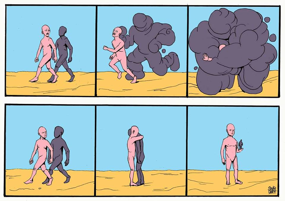 Powerful Contradictory Illustrations Telling The Truth About People And Society-42
