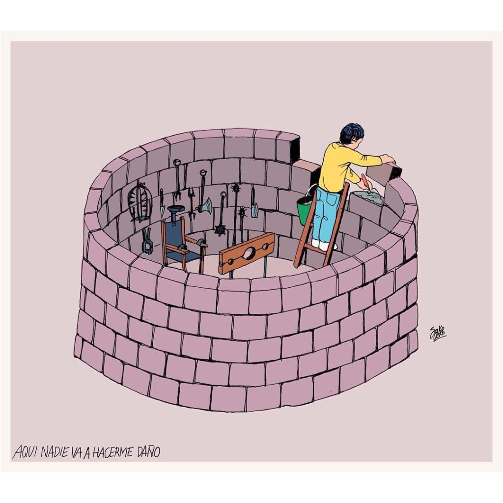 Powerful Contradictory Illustrations Telling The Truth About People And Society-5