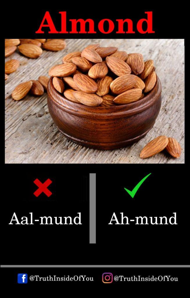 1. Almond