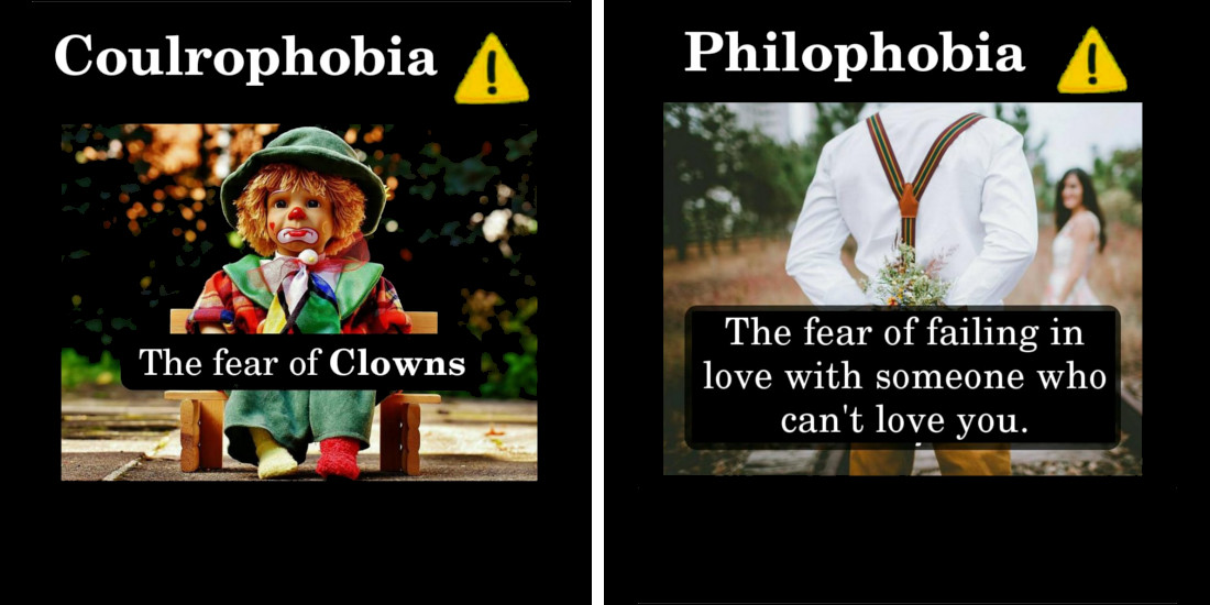 10 Common Types of Phobias You May Have