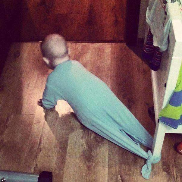 12 Things That Happen When Daddy Is Left Alone With The Baby 11