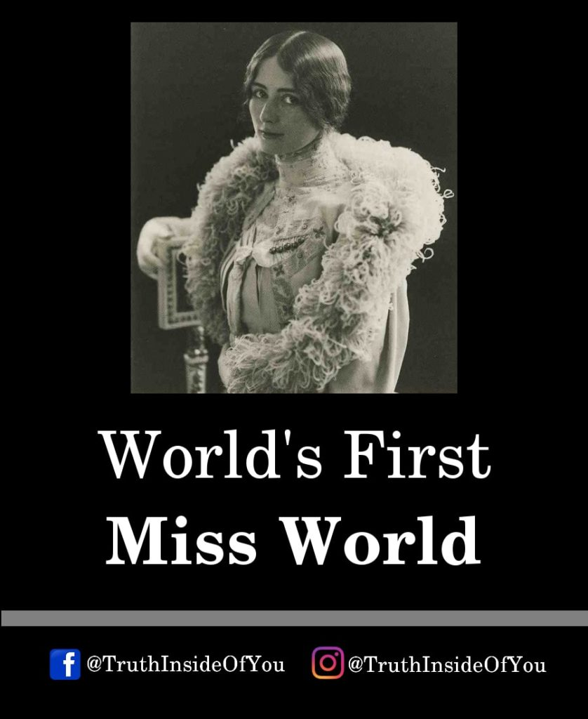 12. World's First Miss World