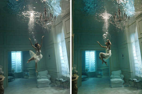 13. It is a real room, with the girl floating.-1