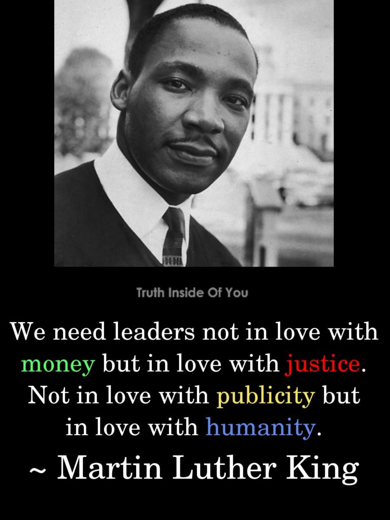 13. Martin Luther King