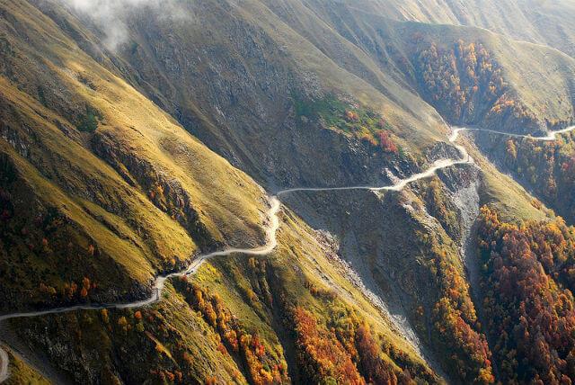 14. Caucasus Road, Russia