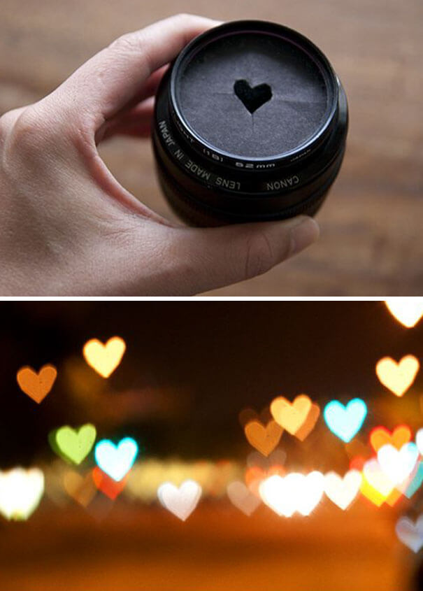 14. City lights transformed into little hearts blinking.-2
